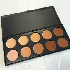 Trusa Make-up Concealer Trusa 10 nuante camuflaj profesional, Trusa fard