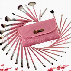 Set 31 pensule machiaj Fraulein38 Pink Candy - Trusa make up