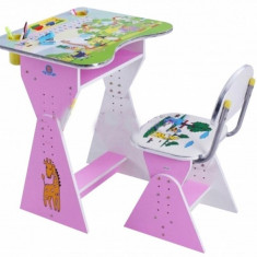 Birou cu scaunel avem si albastru - Masuta/scaun copii
