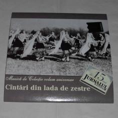Muzica Populara, CD - Vand cd CINTARI DIN LADA DE ZESTRE
