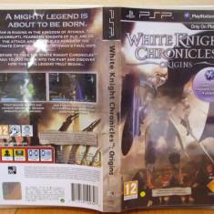 White Knight Chronicles Origins (PSP) (ALVio) + sute de alte jocuri originale - Jocuri PSP Sony, Actiune, 12+