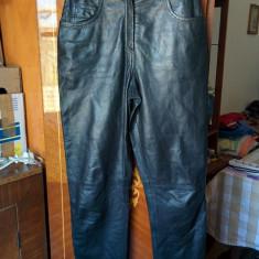 Pantaloni din piele marimea 36, arata ca noi! - Pantaloni dama, Culoare: Negru, Lungi, Negru