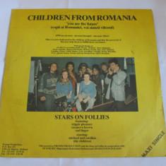 VINIL L.P.CHILDREN FROM ROMANIA ANII 90 - Muzica Rock electrecord