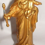 Statuie Fecioara Maria cu Pruncul h-16cm