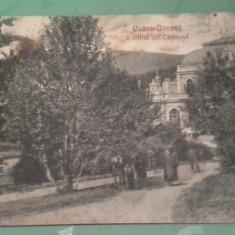 1914 VATRA-DORNEI GRADINA CU CASINOUL CIRCULATA - Carte Postala Bucovina 1904-1918