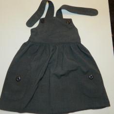 Rochita, sarafan, rochie tip scolarita pentru fetite, marimea 3-4 ani, marca School of Life
