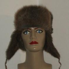 Fes Dama, Maro - Caciula blana naturala bizam model rusesc
