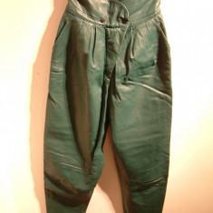 Pantaloni vintage (anii '80) Yves Saint Laurent din piele de miel - Haine vintage