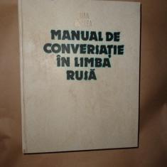 Manual de conversatie in limba rusa- Sima Borlea