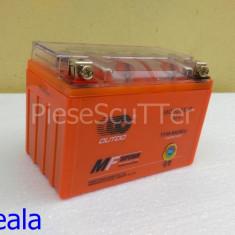 Baterie / acumulator Moto Scuter / ATV 12v ( volti ) 9A ( amperi ) 12 v 9 A ( GEL ) ( L-15 / l-8.5 / H-10.5 ) - Baterie Moto