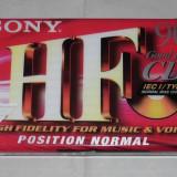 Vand caseta sigilata SONY HF 90Min - Casetofon