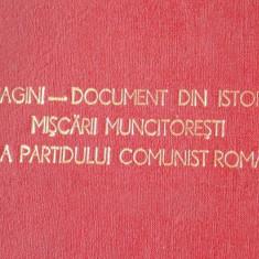 Diapozitive(84 buc) -Imagini document din istoria miscarii muncitoresti si a Partidului Comunist Roman