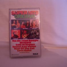 Vand caseta audio Super Hits Original, originala, raritate! - Muzica Pop rca records, Casete audio