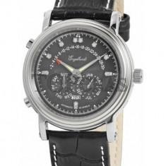 Ceas de lux Engelhardt Marcus Diamond Steel Black, original, nou, cu factura si garantie! - Ceas barbatesc Engelhardt, Mecanic-Automatic