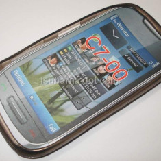 Husa silicon Nokia C7 + expediere gratuita Posta - sell by PHONICA, Transparent