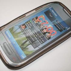 Husa silicon Nokia C7 + expediere gratuita Posta - sell by PHONICA - Husa Telefon Nokia, Transparent