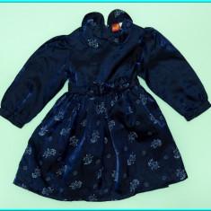 IMPECABILA _ Rochie de gala / rochita de ocazie, SMILY _ fetite | 18 - 24 luni, Culoare: Bleumarin