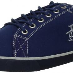 Adidasi Original Penguin Brewton - Tenisi barbati Lacoste - in cutie - panza - 42, Culoare: Albastru, Textil
