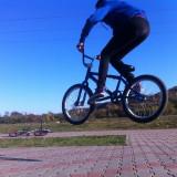 Bicicleta BMX, 20 inch, 20 inch, Numar viteze: 1, Otel, Bleu - Vand BMX Haro F3 impecabil (accept si variante)