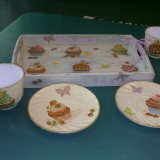 "Set ""Cupcake"" handmade"