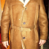 Palton barbati - Haine de blana (cojoc) si haina piele barbat, masura 52-54