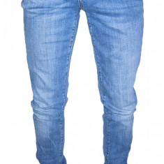 Blugi barbati H&m - Blugi Conici FISHBONE - MODEL FRUMOS - Skinny / Slim - ( MARIME: 29 ) - Talie = 81 CM / Lungime = 107 CM