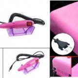 lampa uv unghii false gel + pila electrica profesionala manichiura