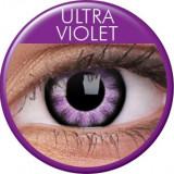 Lentile de contact colorate violet. Ultra Violet.