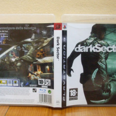 Dark Sector (PS3) ( ALVio) + sute de alte jocuri PS3 ( VAND / SCHIMB ), Actiune, 18+