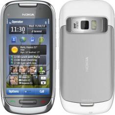Nokia C7-00 stare impecabila - Telefon mobil Nokia C7, Argintiu, Neblocat