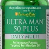 Multivitamine barbati 60 capsule-tratament 1 luna Produs SUA Valabilitate 09/16 - Vitamine/Minerale