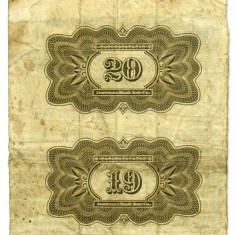 Bancnota Straine - RUSIA 19 20 CUPOANE RUBLE 16 AUGUST 1927 STARE BUNA SPRE FOARTE BUNA SET 2 NETAIATE