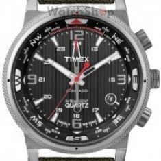 Timex EXPEDITION E-COMPASS T2N726 - Ceas barbatesc Timex, Casual, Quartz, Material textil, Data, Analog