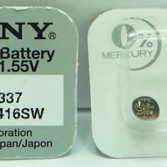 Baterie Sony 337 SR416SW baterie pentru microcasca japoneza, baterie SONY 2016, NiMH