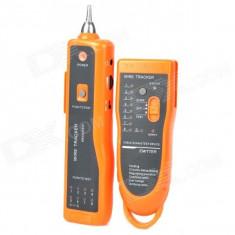 Cablu retea - Tester pentru verificarea cablurilor de telefon si internet UTP