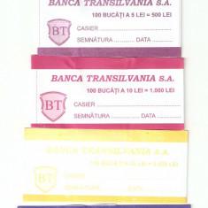 Banderole pt bancnote / TRANSILVANIA .