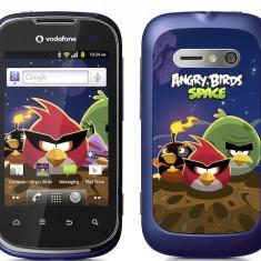 SMARTPHONE VODAFONE SMART 2 ANGRY BIRDS - Telefon mobil Vodafone, Albastru, <1GB, Neblocat, Single SIM, Single core
