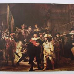 Reproducere 'Rondul de noapte' de Rembrandt Harmensz Van Rijn (1606-1669)