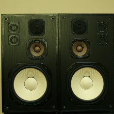 Boxe Yamaha, Boxe podea, 41-80W - Boxe de studio YAMAHA NS-344, impecabile
