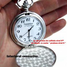 Ceas de Buzunar - TIMESTAR cu Lant stil retro vintage