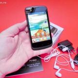 Smartphone Allview P5 mini, dual sim, 3G, procesor Cortex A9 1GHz, 512 RAM, memorie interna 4 GB, Android 4.0.4, display 3, 95 inch, - Telefon mobil Allview P5 Mini, Negru