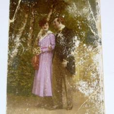 Carte postala - ARTA - Cuplu in parc - Indragostiti - necirculata anii 1910-1920 -  2+1 gratis toate produsele la pret fix - RBK4065