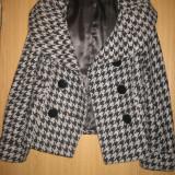 Palton scurt NISSA - Palton dama Nissa, Marime: 40, Culoare: Din imagine, Din imagine, Poliester