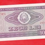 Bnk bn romania 10 lei 1966, necirculata