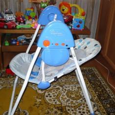 BALANSOAR CU MELODII SI JOC DE LUMINI - Masuta/scaun copii