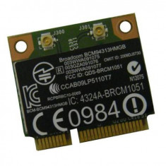 MODUL COMBO wireless 802.11n si Bluetooth 3.0 Half MiniPCI-E - BCM94313HMGB - Modul bluetooth HP
