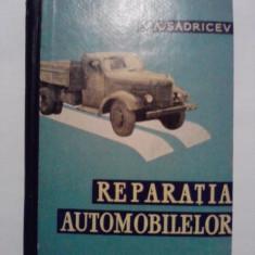 Repararea automobilelor - V.A. Sadricev / C9P - Carti auto