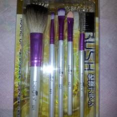 Pensula make-up - SET 5 PENSULE MAKE UP PROFESIONALE DE MACHIAJ TRUSE FARD PENSULE FARD PROFESIONALE
