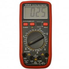 Multimetre - VC61A Aparat de Masura Digital Electronic | TEMPERATURA | MULTIMETRU | | NOU