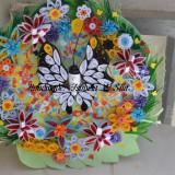 Handmade - Tablou Quilling Fluture